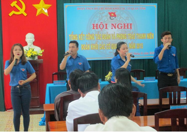 Đoàn Khối các cơ quan tỉnh Bến Tre tổ chức hội nghị tổng kết tại Sở Khoa học và Công nghệ