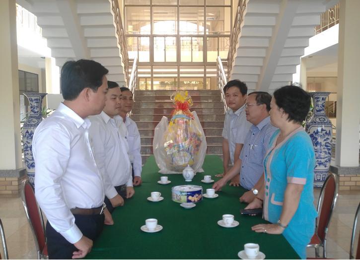 Sở KH&CN thăm, chúc tết chiến sĩ Đồn Biên phòng Cổ Chiên