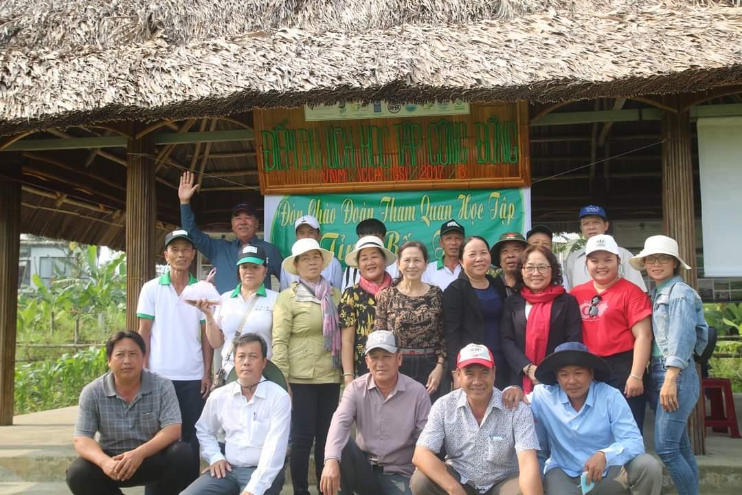 Bến Tre tham quan, học tập mô hình du lịch học tập cộng đồng tại Quảng Nam, Đà Nẵng