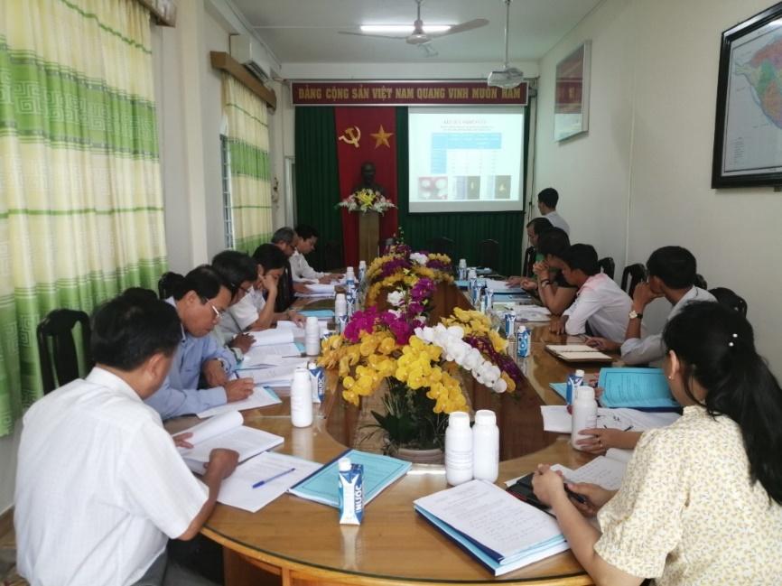 Nghiệm thu đề tài: Nghiên cứu ứng dụng công nghệ sinh học sản xuất chế phẩm sinh học phòng trừ ruồi đục trái trên cây chôm chôm tại tỉnh Bến Tre