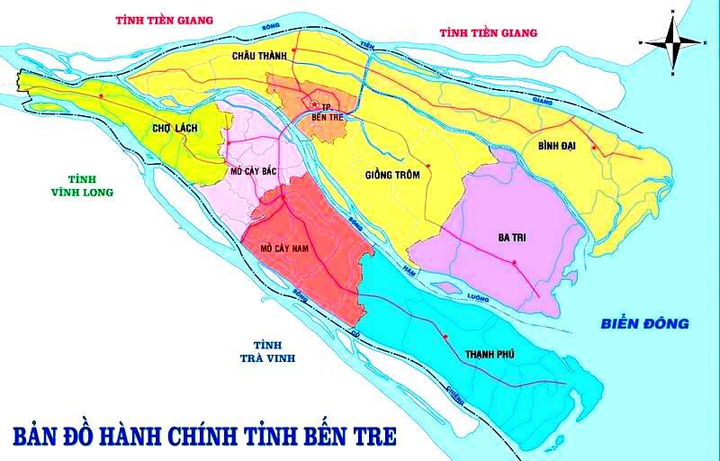 Nghị quyết về phát triển Bến Tre về hướng Đông giai đoạn 2021-2025 và tầm nhìn đến năm 2030