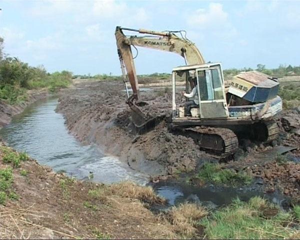 Hạn, mặn kéo dài gây thiệt hại trên 54 tỷ đồng