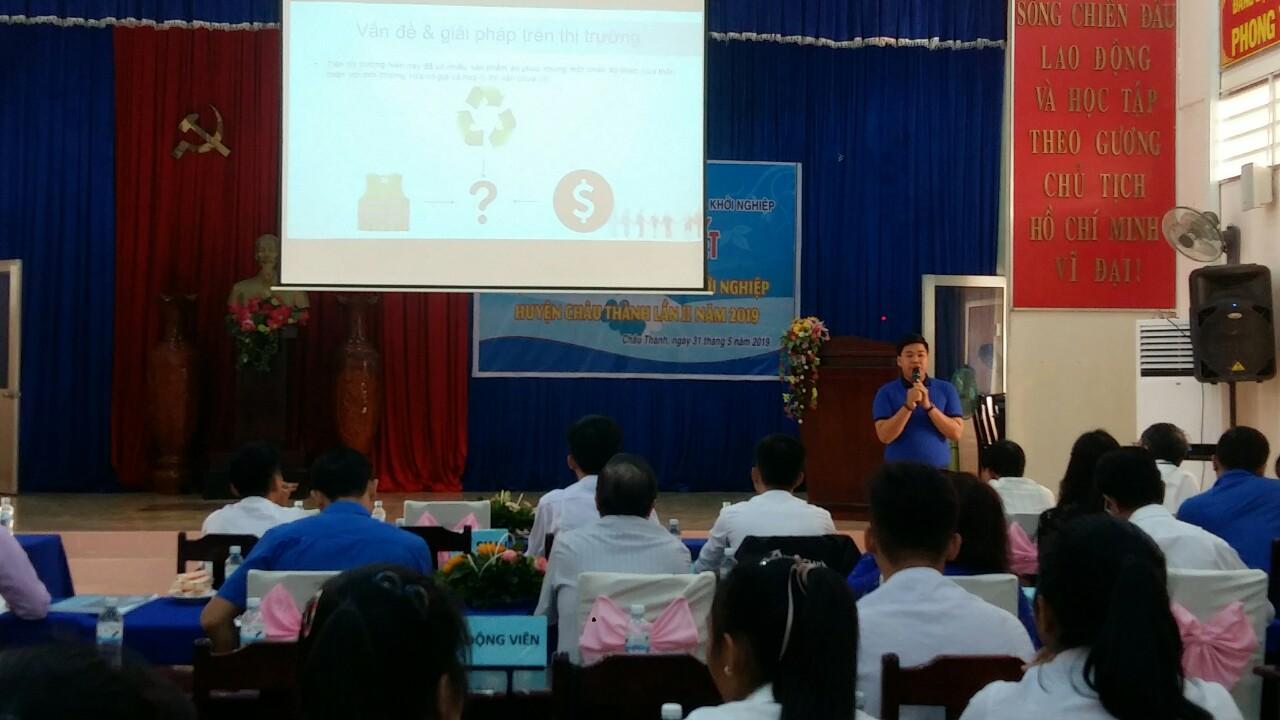 Hội thi tìm kiếm ý tưởng khởi nghiệp huyện Châu Thành lần II năm 2019