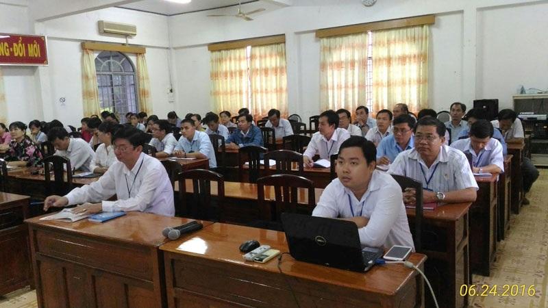 Sở Khoa học và Công nghệ tổ chức Hội nghị Học tập quán triệt và tổ chức thực hiện Nghị quyết Đại hội đại biểu toàn quốc lần thứ 12 của Đảng