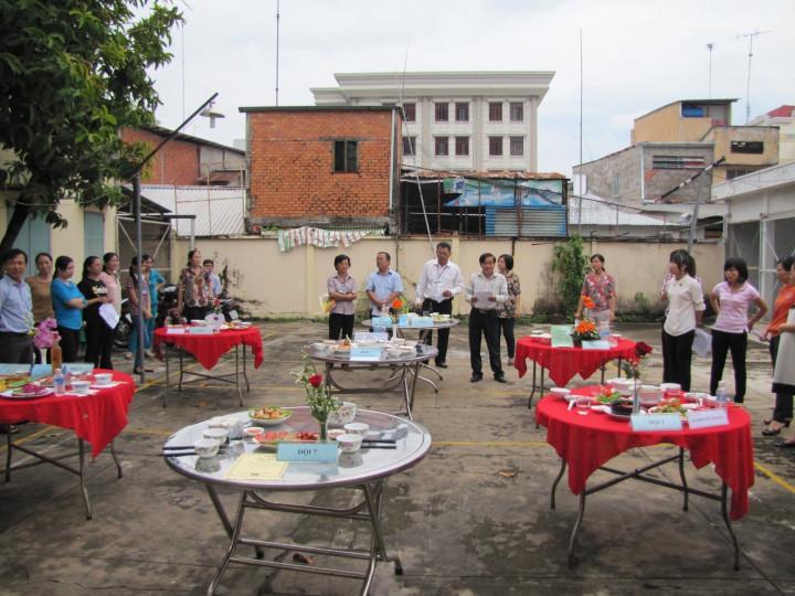 Công đoàn Sở KH&CN tổ chức Hội thi nấu ăn chào mừng ngày Phụ nữ Việt Nam
