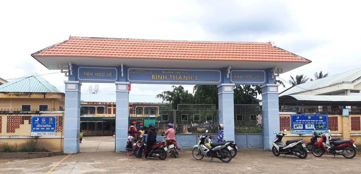 Bình Thành xây dựng xã nông thôn mới nâng cao