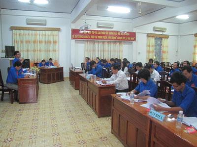 Đại hội đoàn viên đoàn Thanh niên Cộng sản Hồ Chí Minh Sở Khoa học và Công nghệ nhiệm kỳ 2014-2017
