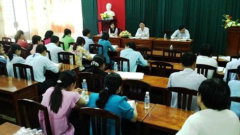 Đảng Ủy Sở KH&CN tổ chức đối thoại với các Đoàn thể