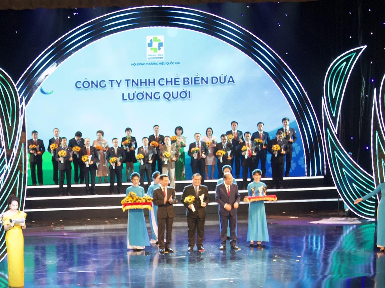Bến Tre có 1 doanh nghiệp đạt thương hiệu quốc gia Việt Nam
