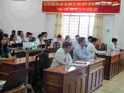 Sở Khoa học và Công nghệ tổ chức họp mặt kỷ niệm 85 năm ngày thành lập Công đoàn Việt Nam (28/7/1929-28/7/2014)