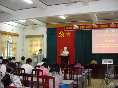 Đảng bộ Sở Khoa học và Công nghệ tổ chức hội nghị sơ kết công tác 6 tháng đầu năm 2013