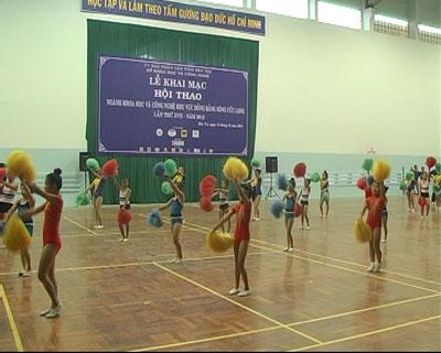 Khai mạc hội thao ngành KH&CN khu vực ĐBSCL lần thứ 17 năm 2012