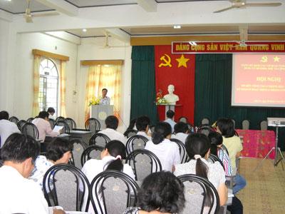 Đảng ủy Sở Khoa học và Công nghệ Bến Tre: Hoàn thành hội nghị sơ kết 6 tháng đầu năm 2012