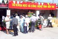 Bến Tre gặt hái nhiều thành công tại Techmart An Giang 2006