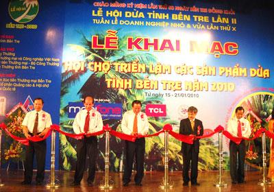 Bến Tre: Khai mạc Lễ hội Dừa lần thứ 2-2010