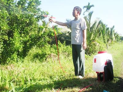 Máy phun thuốc trừ sâu bằng điện-một nông cụ an toàn và tiết kiệm cho nhà nông