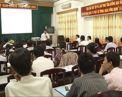 Sở Khoa học và Công nghệ: Tổ chức hội nghị tập huấn phổ biến kiến thức pháp luật về sở hữu trí tuệ
