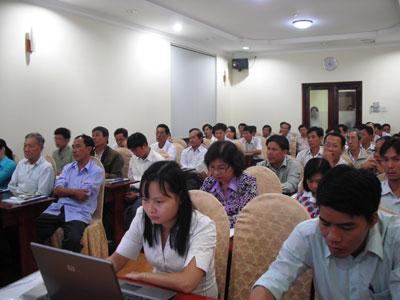 Bến Tre tổ chức đào tạo về Sở hữu trí tuệ cho các hiệp hội làng nghề