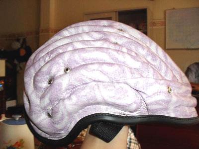 """Thông tin cảnh báo về """"Mũ bảo hiểm bơm hơi"""" chưa được chứng nhận hợp quy, không sử dụng cho người tham gia giao thông trên mô tô xe máy"""