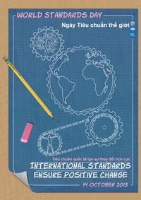 """""""Ngày tiêu chuẩn thế giới 14/10/2013-Tiêu chuẩn quốc tế tạo sự thay đổi tích cực"""""""