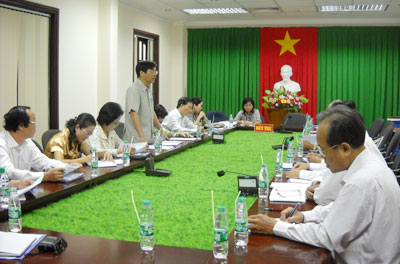 Ủy ban Khoa học, Công nghệ và Môi trường của Quốc hội làm việc tại Bến Tre