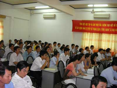 Tập huấn nâng cao nhận thức hệ thống quản lý chất lượng 9001:2008
