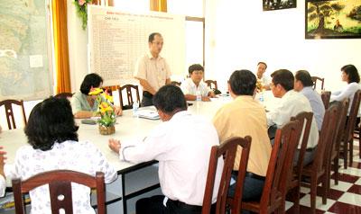 Sở Y tế Bến Tre là đơn vị áp dụng hệ thống quản lý chất lượng theo tiêu chuẩn TCVN 9001:2000